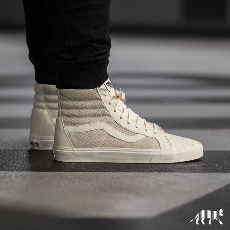 "Fashion · ""Vans Sk8-Hi Reissue *Snake Leather* ..."