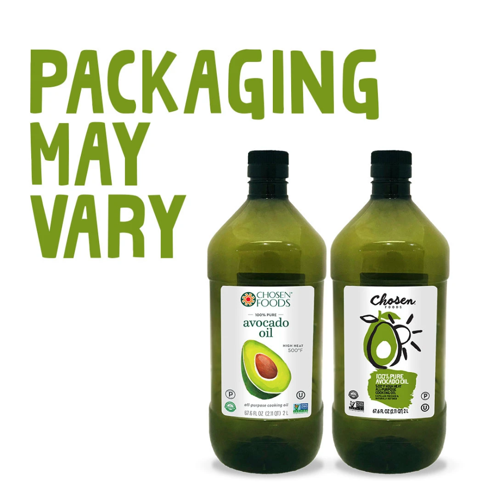 100 Pure Avocado Oil For Cooking Chosen Foods In 2021 Chosen Foods Avocado Avocado Oil