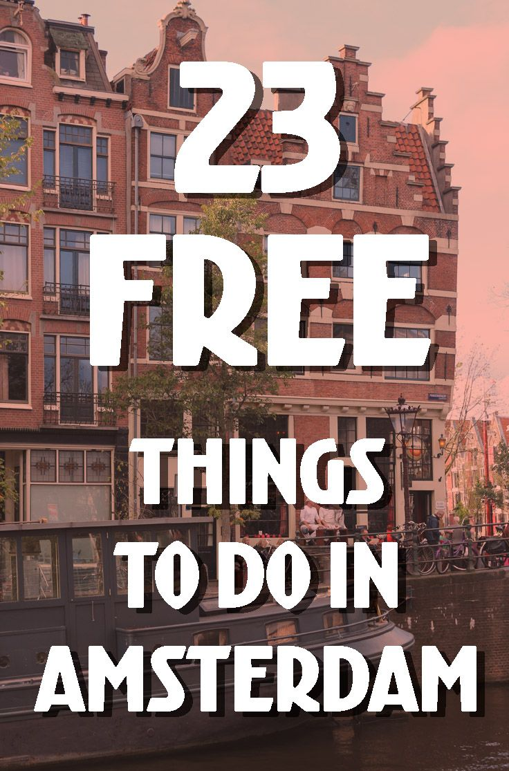23 FREE things to do in Amsterdam  free concerts, activities & fun ideas is part of Free Things To Do In Amsterdam Free Concerts Activities - Here is a list of 23 awesome free things you can do in Amsterdam to help you stay within your budget! From free concerts and fun activities to places to explore