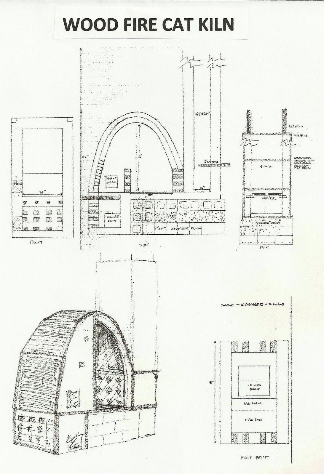 Wood Fired Cross Draft Kilns