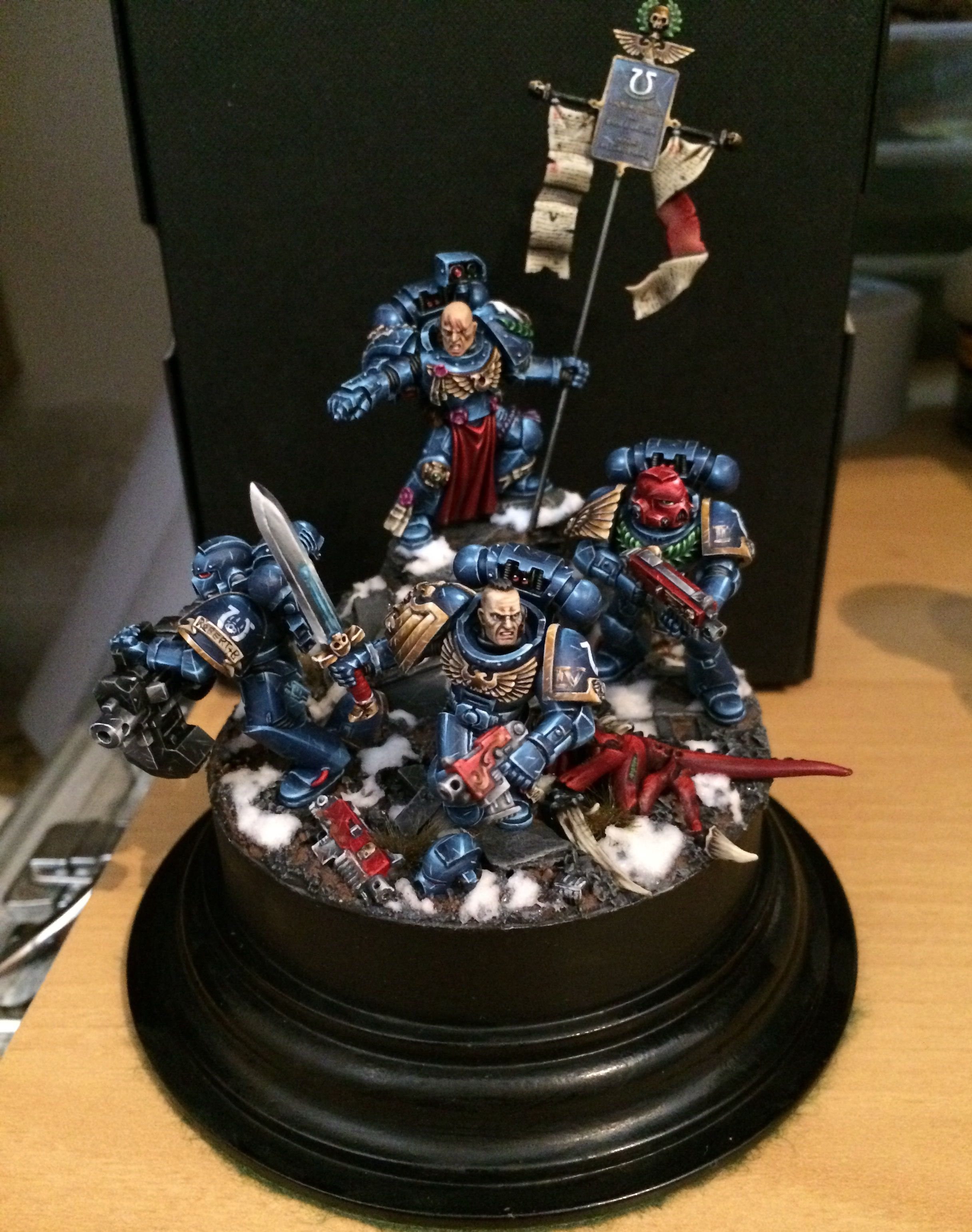 CoolMiniOrNot Last stand diorama by sgeeson Warhammer