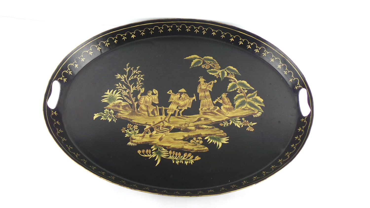 Decorative Trays Large Asian Tray Tabletop Size Tray Decorative Tray