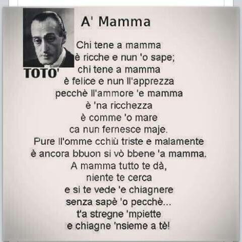 'A mamma