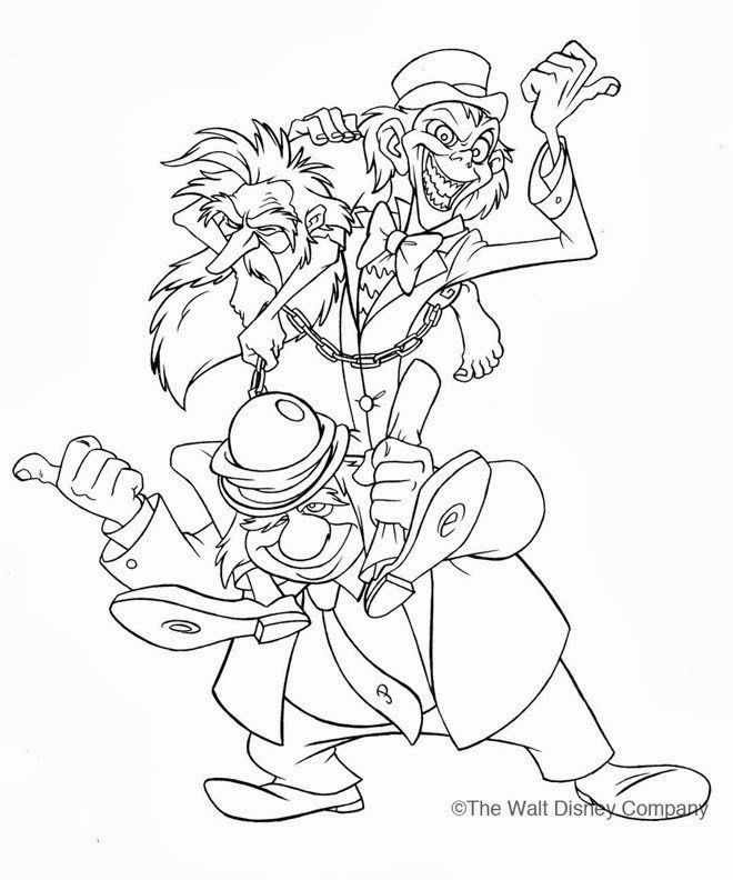 Hocus Pocus Coloring Pages Haunted Mansion Coloring Pages In 2020 Free Printable Paper Dolls Coloring Pages Disney Coloring Pages