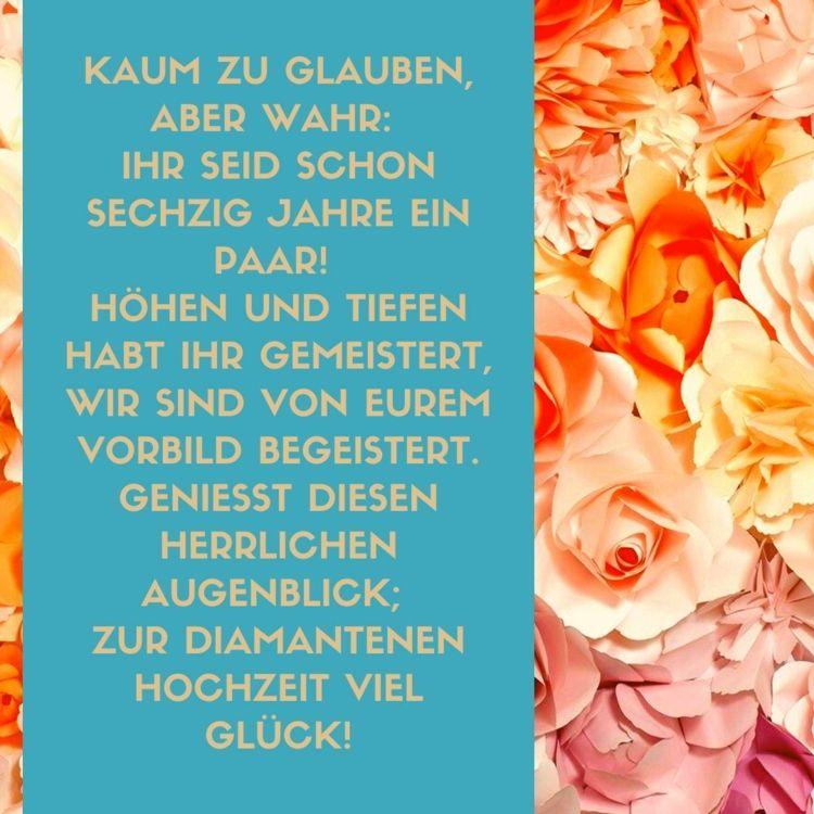 Spruche Zur Diamantenen Hochzeit Gedichte Zitate Spruche Diamantene Hochzeit Spruche Zur Diamantenen Hochzeit Diamantene Hochzeit