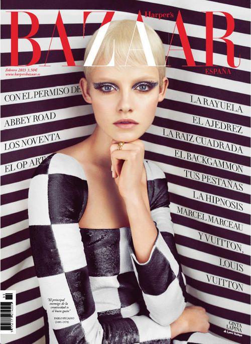 kmitt:    Ginta Lapina for Harper's Bazaar Spain
