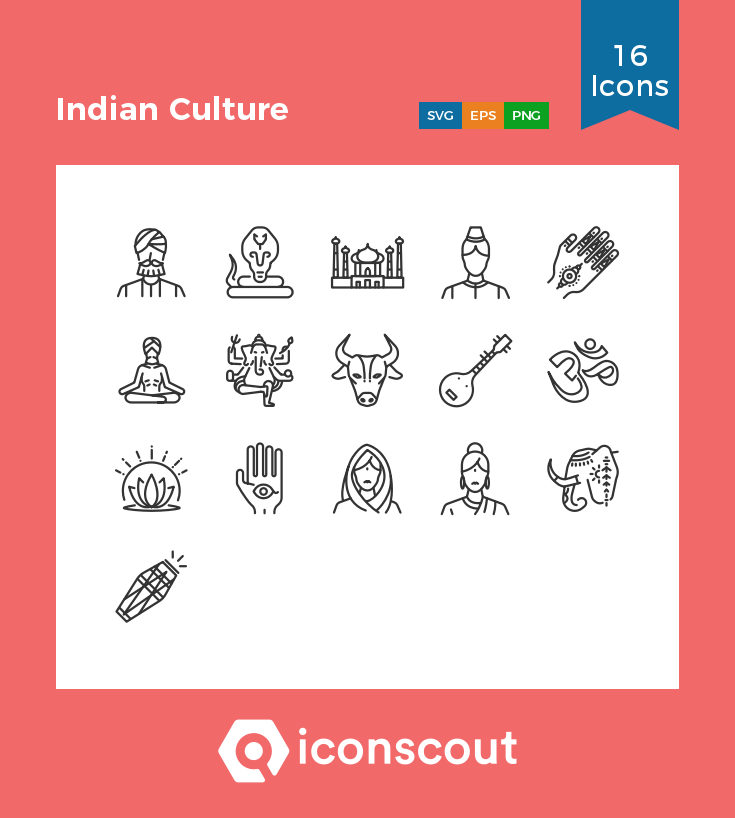 Download Download Indian Culture Icon pack - Available in SVG, PNG ...