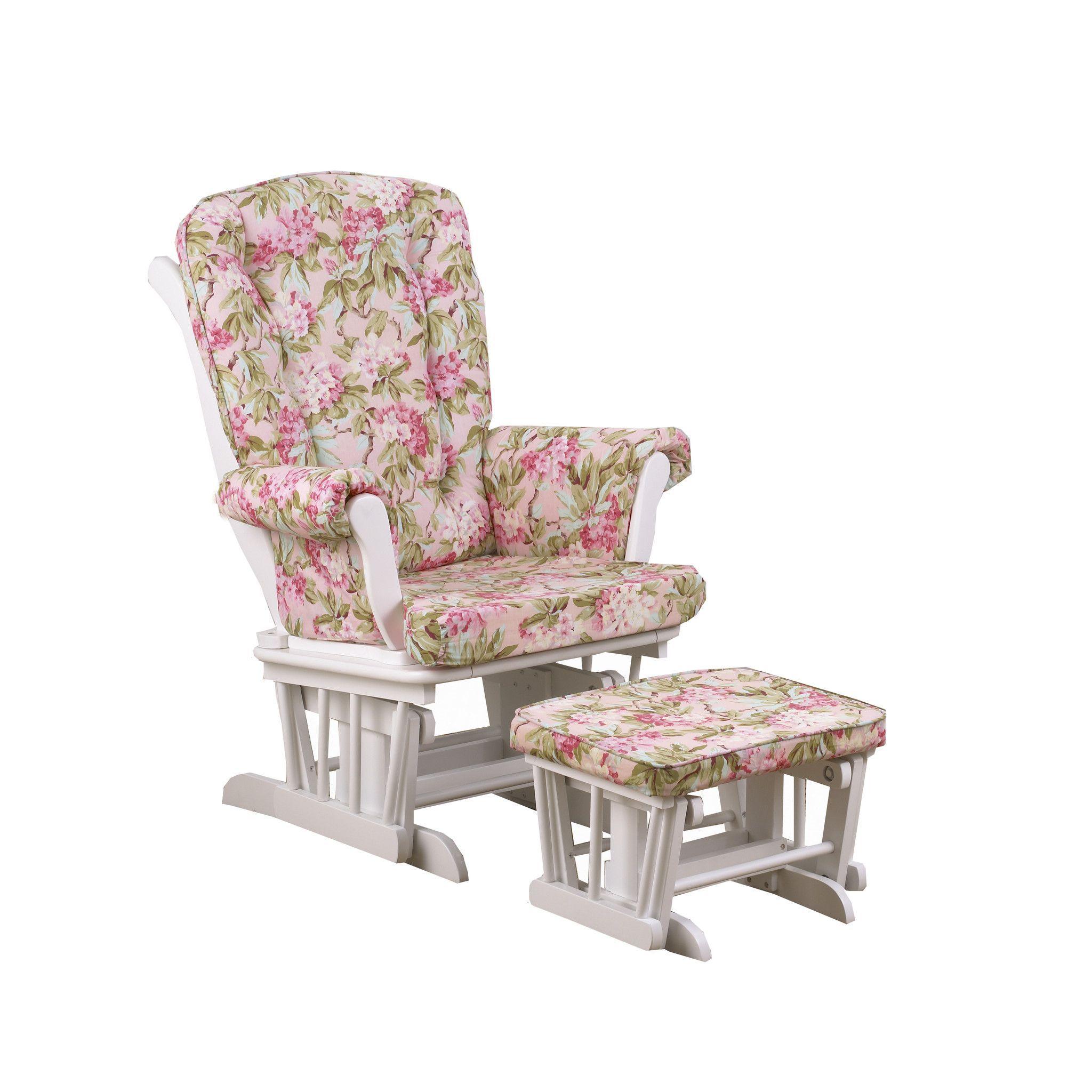 Rocking Chair & Glider Glider and ottoman, Nursery