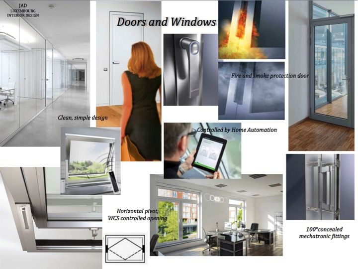 JADs Office Design Windows And Doors Mood Board