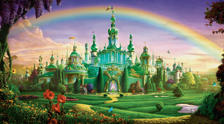 Wizard Of Oz Emerald City Castle