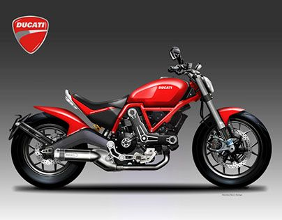 DUCATI DESMOBOBBER | motorcycles | Ducati, Motorcycle Design
