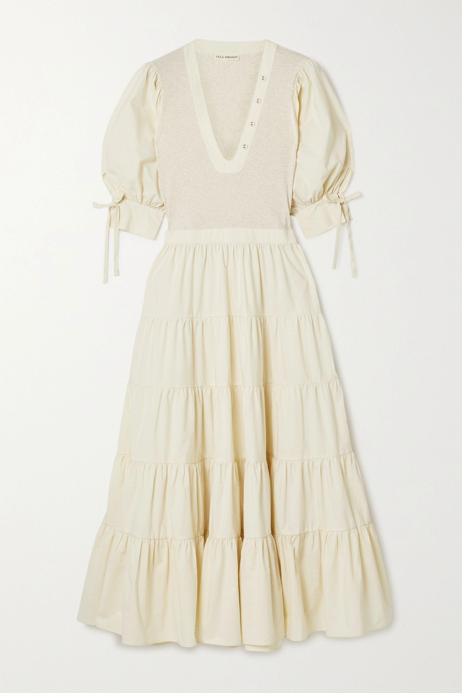 Ulla Johnson S Wilda Midi Dress Nods To Victorian Era Styles In Such A Flattering Contemporary Way It S Desi Cotton Midi Dress Bodycon Dress Online Fashion [ 3000 x 2000 Pixel ]