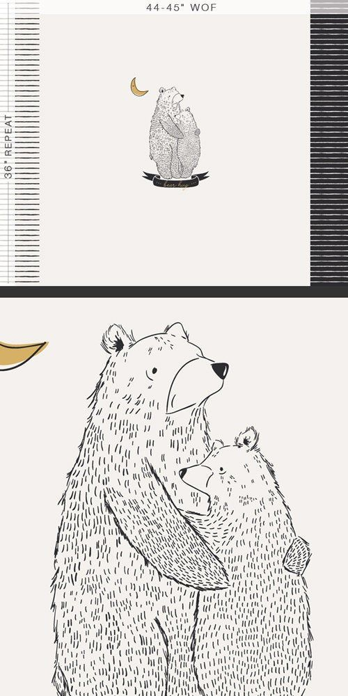 Bear Hug Panel, Pine Lullaby Rediscovered by Art Gallery ...