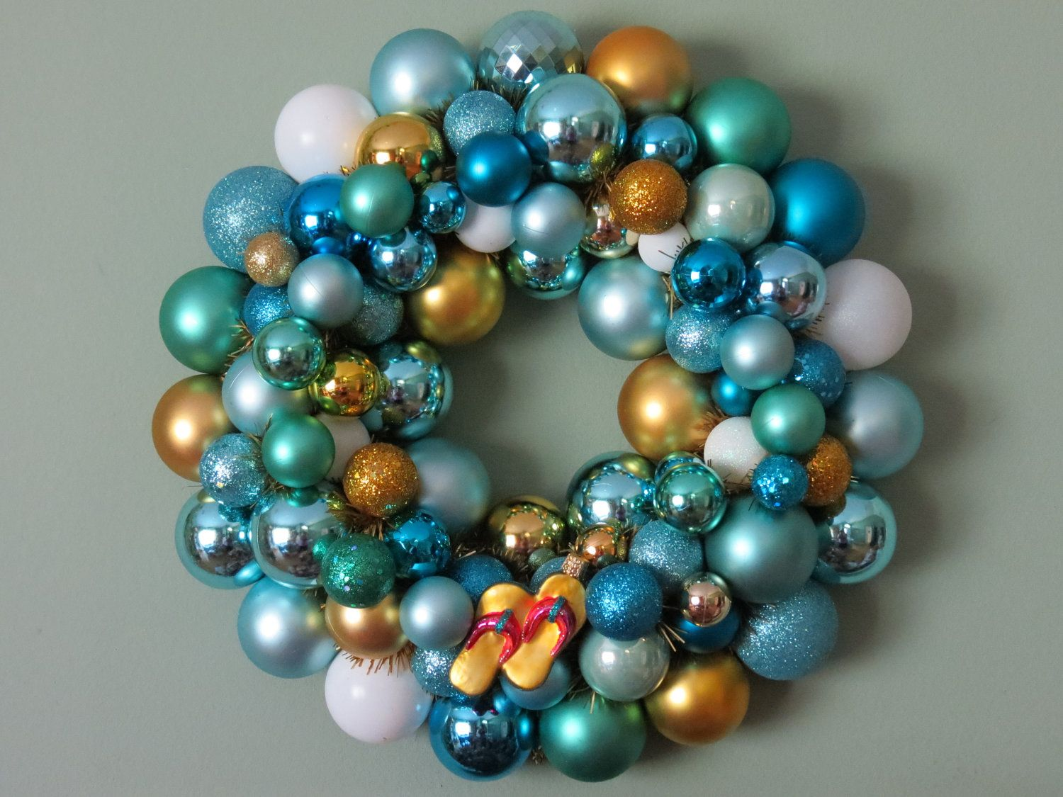 UNCW- Ornament Wreath, or some variation of this