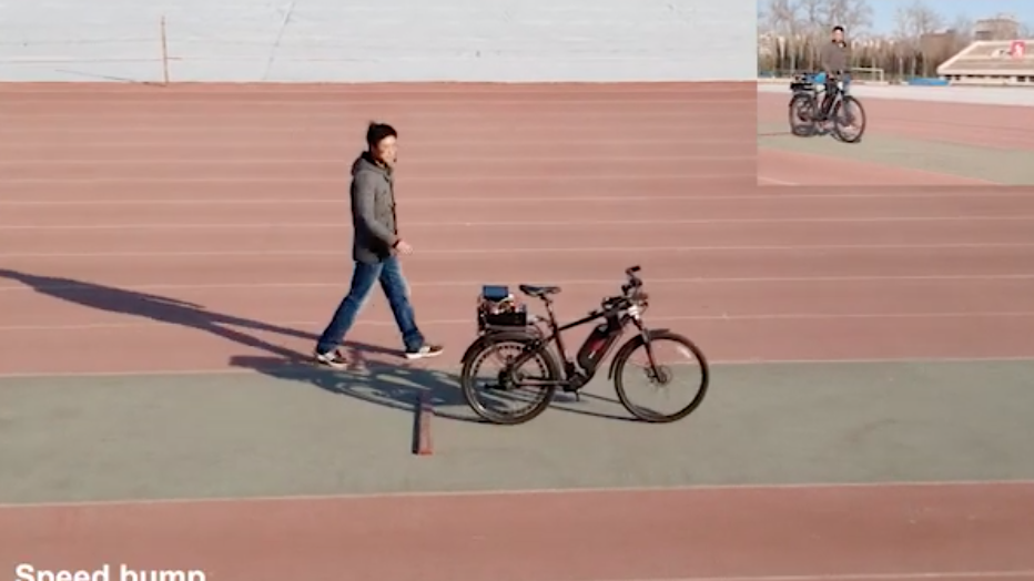This Autonomous Bicycle Shows China S Rising Expertise In Ai Chips