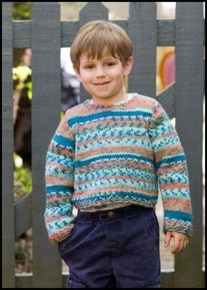 Faux Fair Isle Sweater: Want the look of Fair Isle without the ...