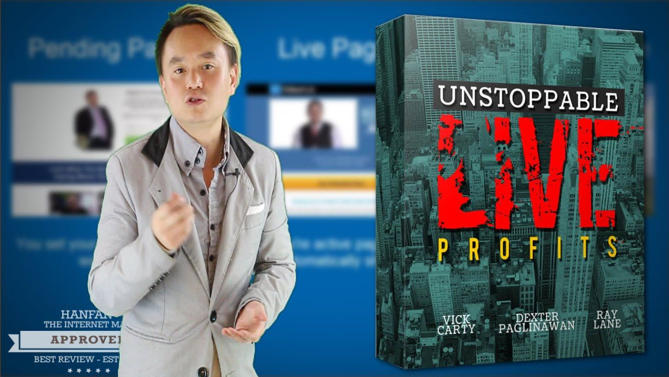 Unstoppable Live Profits Sales Video - get *BEST* Bonus and Review HERE!...