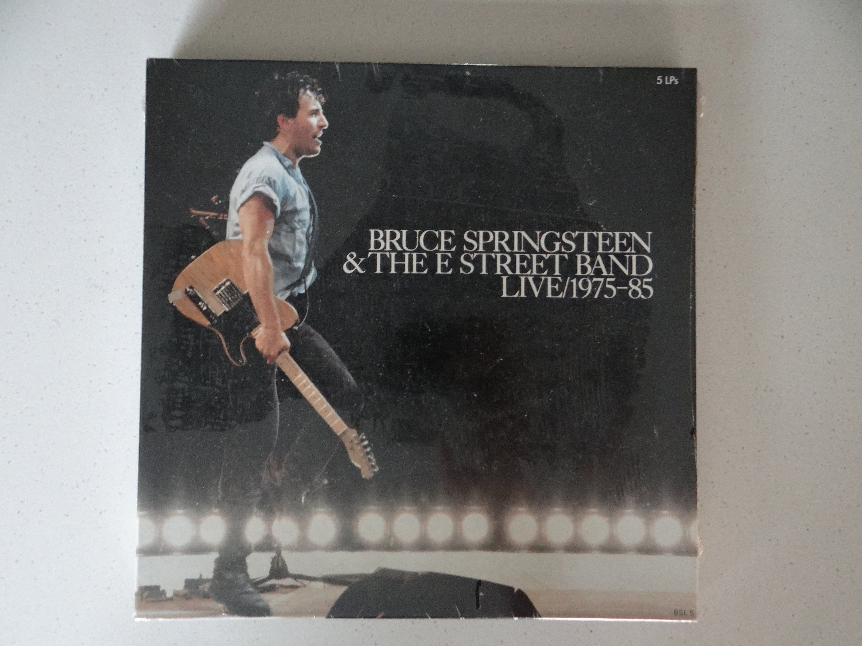 Sealed Bruce Springsteen The E Street Band Live 1975 85 Vinyl Lp Box Set Record Album Bsl 5 E Street Band Bruce Springsteen Lp Box