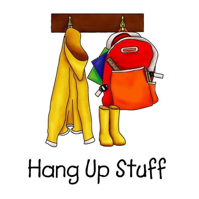 Put Shoes And Backpack Away Chore Chart Pictures Chore Chart