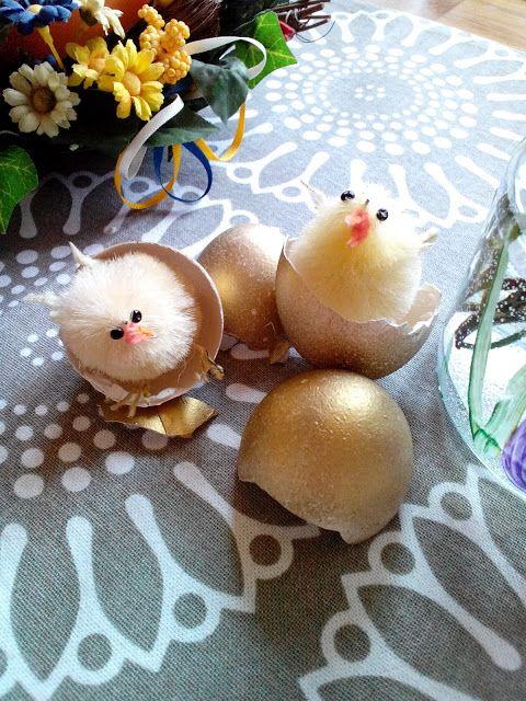 M'made: Kultaiset pääsiäismunat