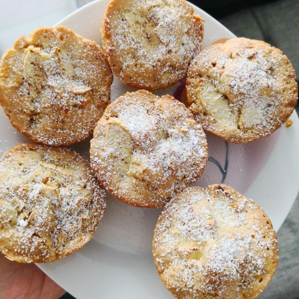 leckere Apfelmuffins | Rezept | Kitchen Stories