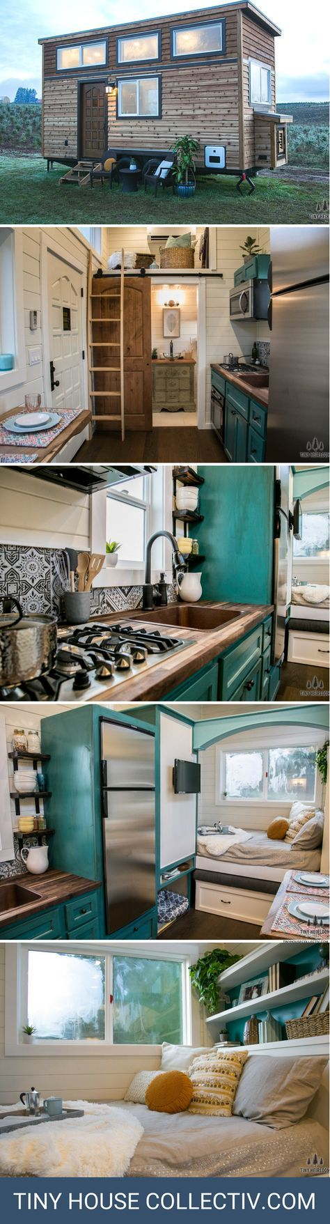 The archway by tiny heirloom in tiny house nation pinterest