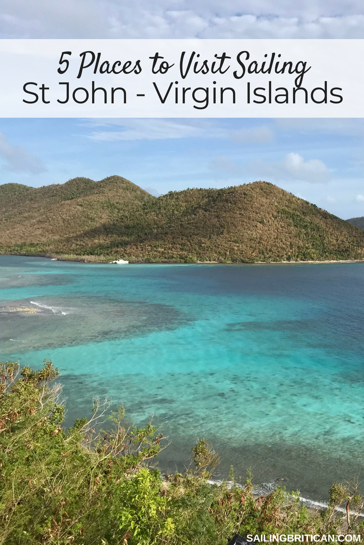 5 Places To Visit Sailing St John Virgin Islands