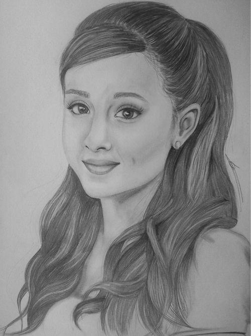 Ariana grande draw google zoeken