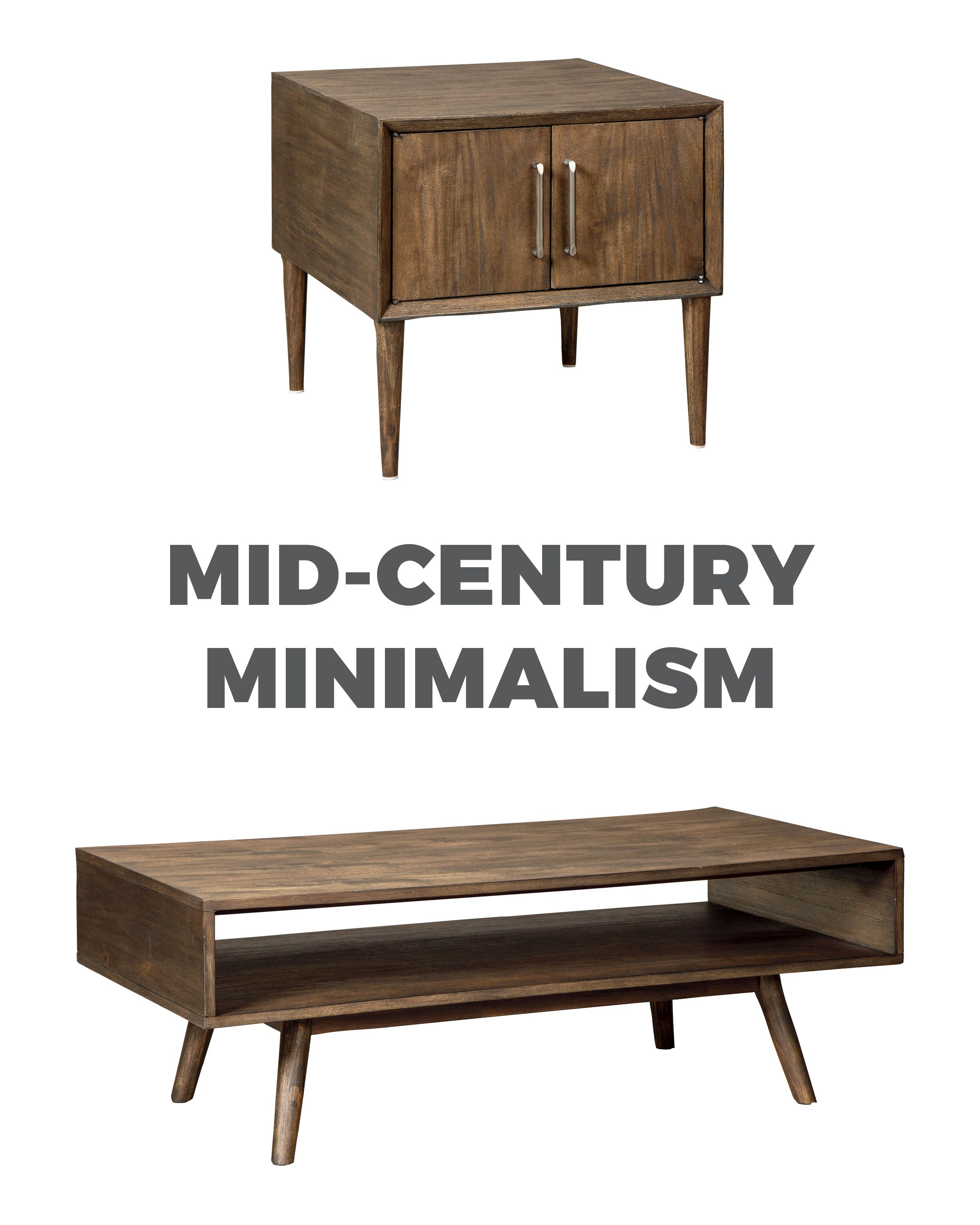 Kisper Mid Century Rectangular Occasional Table And End By Ashley Furniture Midcenturystyle Midcentury Ashleyfurniture