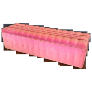 Genial Light Pink Storage Bench