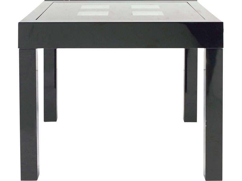table rectangulaire avec allonge 180 cm max | large, cuisine and