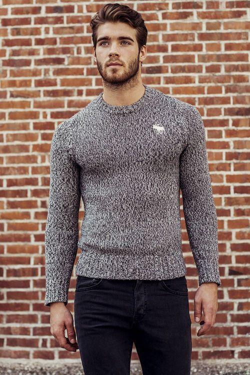 Menswear Sweater Abercrombie Moda Para Homens Moda Masculina Estilo Masculino