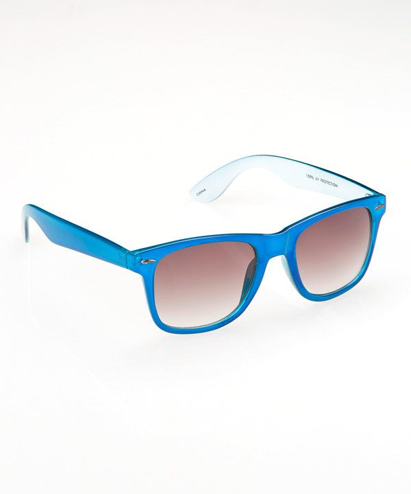 92e4662c3a6d Look at this Light Blue Sunglasses on  zulily today!