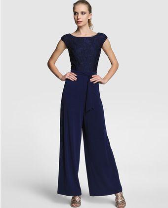 Vestido azul calvin klein el corte ingles
