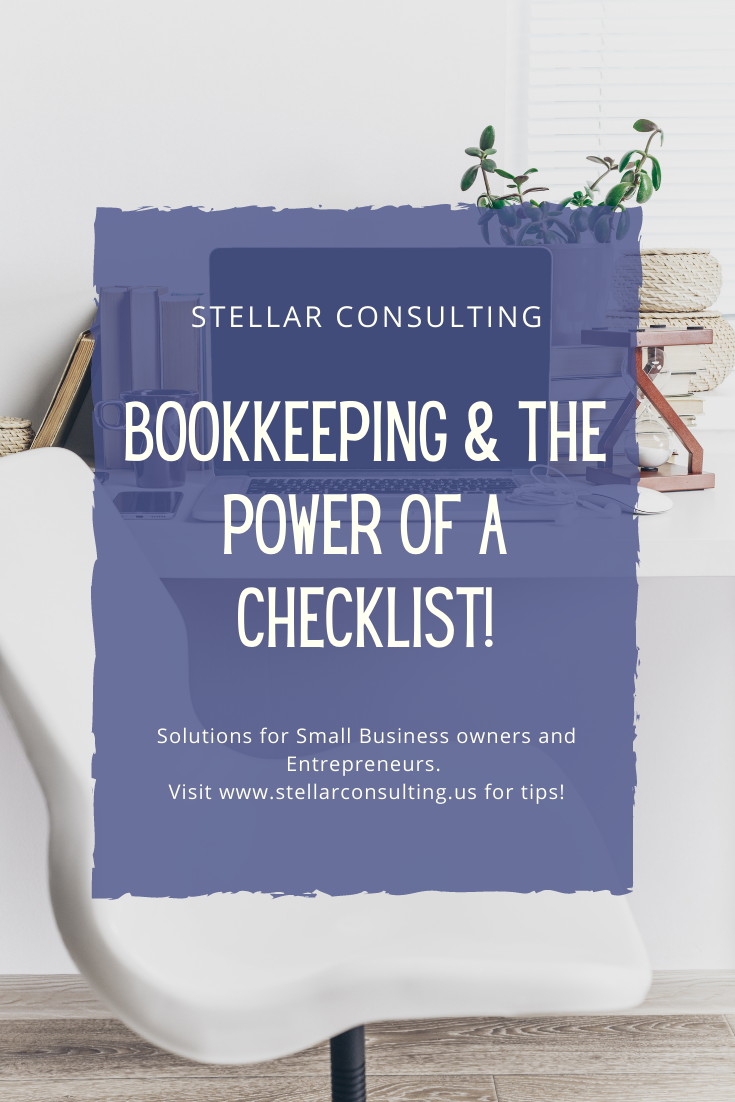 Following a detailed checklist can not only help increase productivity within your business, it also allows you to complete repetitive tasks more efficiently and more accurately. #smallbusiness #selfemployed #entrepreneurs #smallbusinessowner #womeninbiz #womeninbusiness #bookkeeping #accounting #businessadvisor #QuickbooksProAdvisor #quickbooks #Xero #smallbusinessaccounting #virtualbookkeeping #bookkeepingservices #servicebasedbusiness #smallbiz #bookkeepingonline #smallbiztoolsandtech