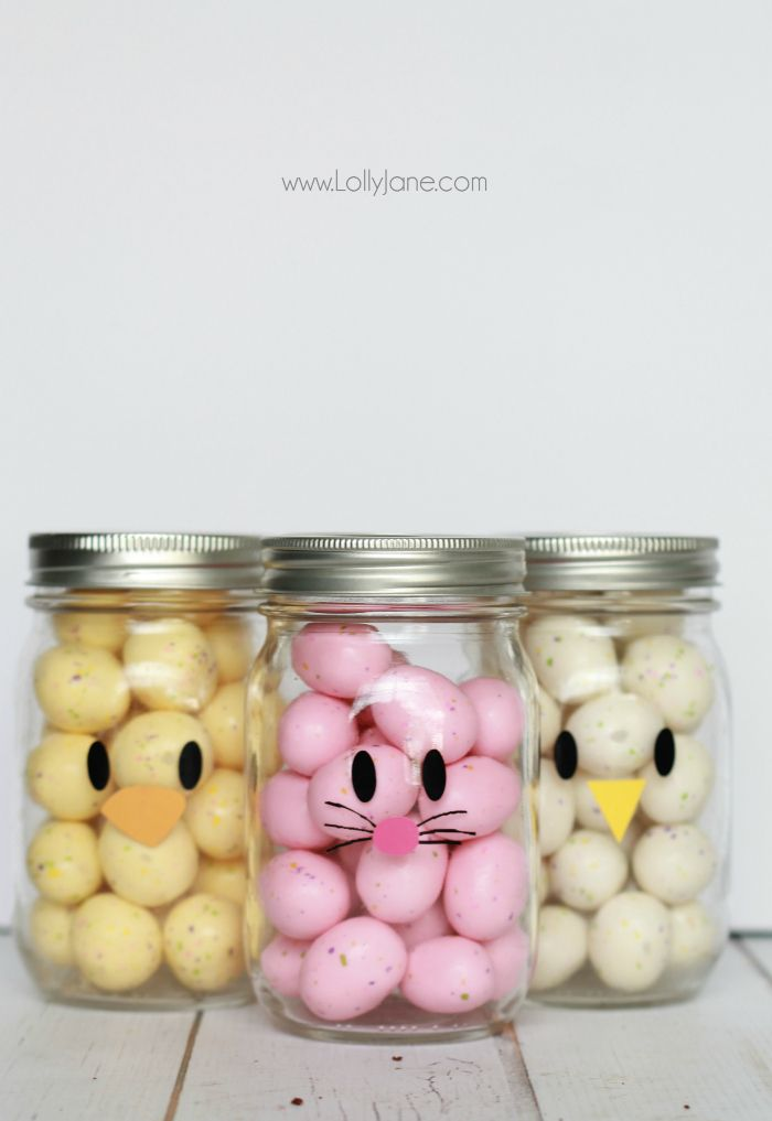 13 mason jar crafts for easter that would make the easter bunny 13 mason jar crafts for easter that would make the easter bunny jealous negle Choice Image