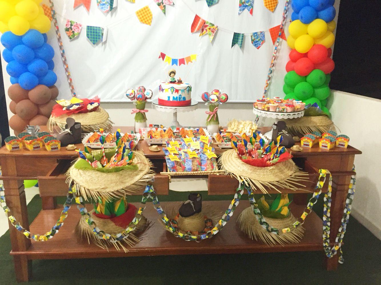 Mesa De Doces Tema São João Mesários Birthday Cake Cake E Desserts