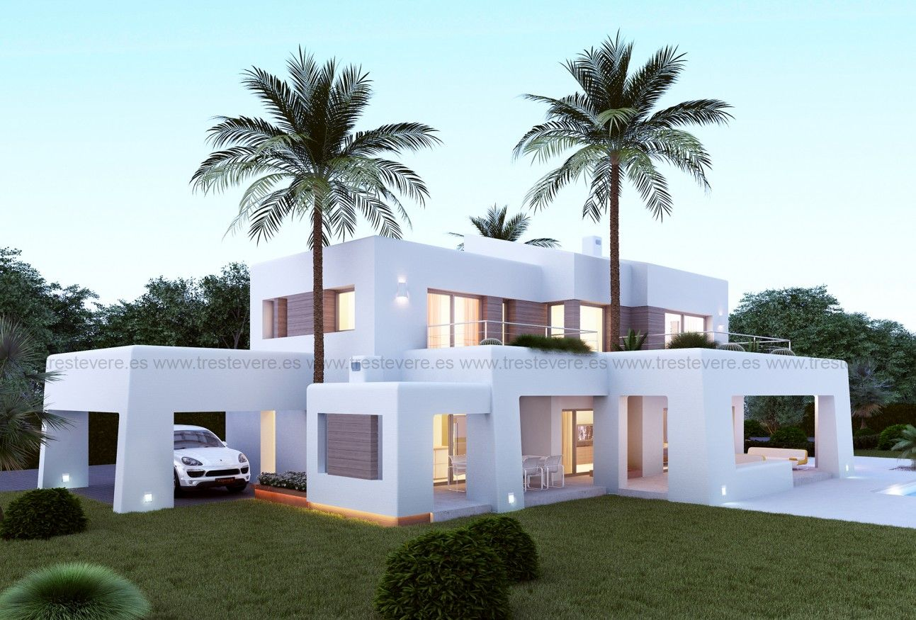 Vivienda moderna 03 02 for Casa moderna mediterranea
