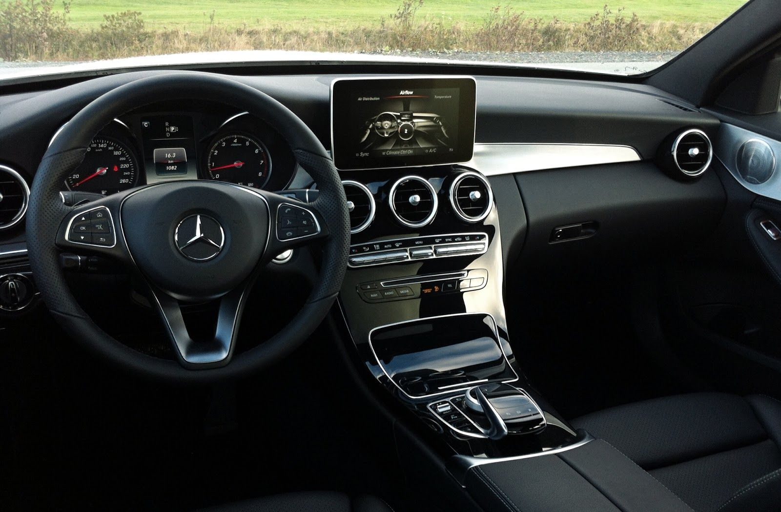 2015 Mercedes Benz C400 Interior Dashboard With Images
