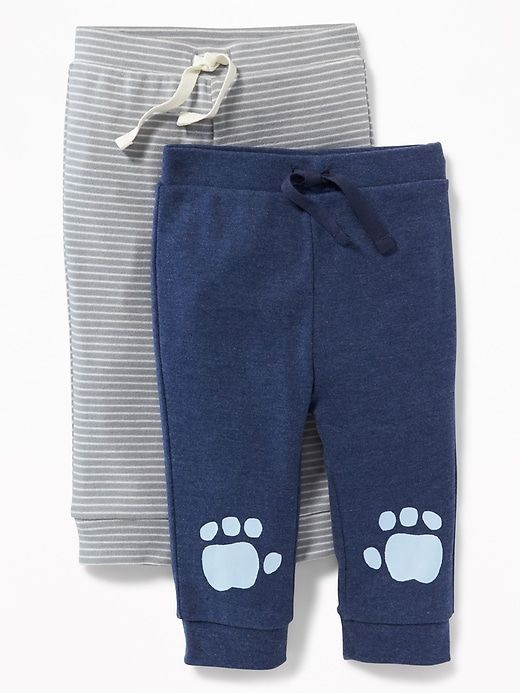 Jersey Pants 2-Pack for Baby