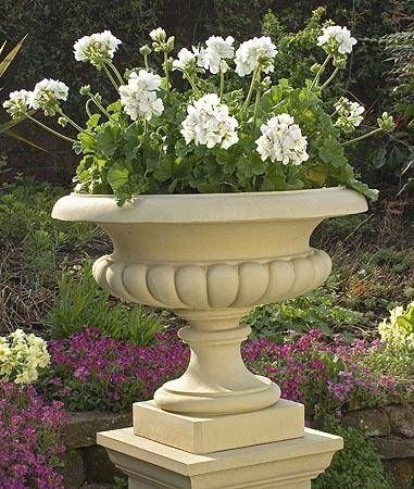 Exceptional West Lodge Urn Garden Planter