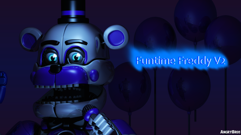 Mmd Funtime Freddy: Funtime Freddy V2 By AngryBros On