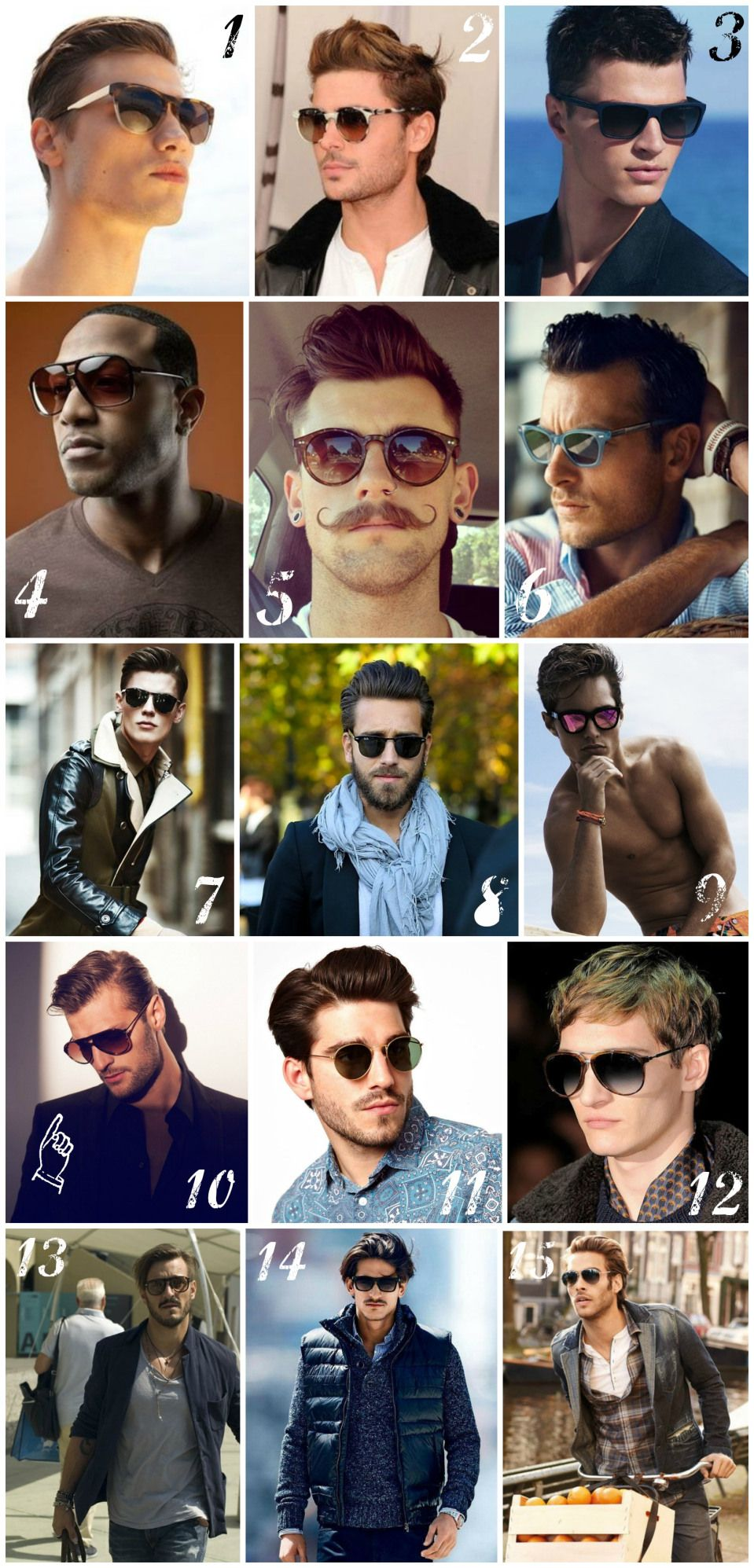 24653f811e7 The Best Guide For  Classic and  Casual Mens  Sunglasses