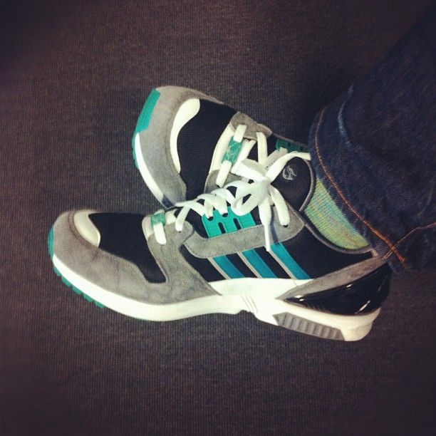 adidas ZX 8000 Consortium series EQT colorway.