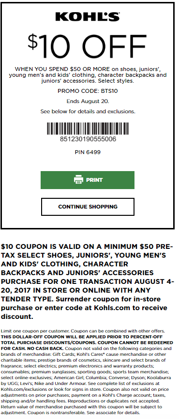 Best January 2020 Kohls Printable Coupons And Coupon Codes Kohls Coupons Kohls Printable Coupons Kohls