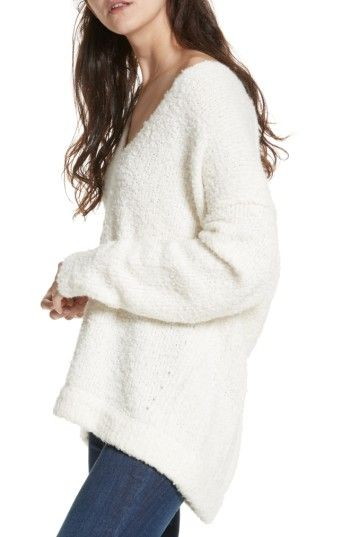 Free People Lofty V Neck Sweater Freepeople Cloth Free People