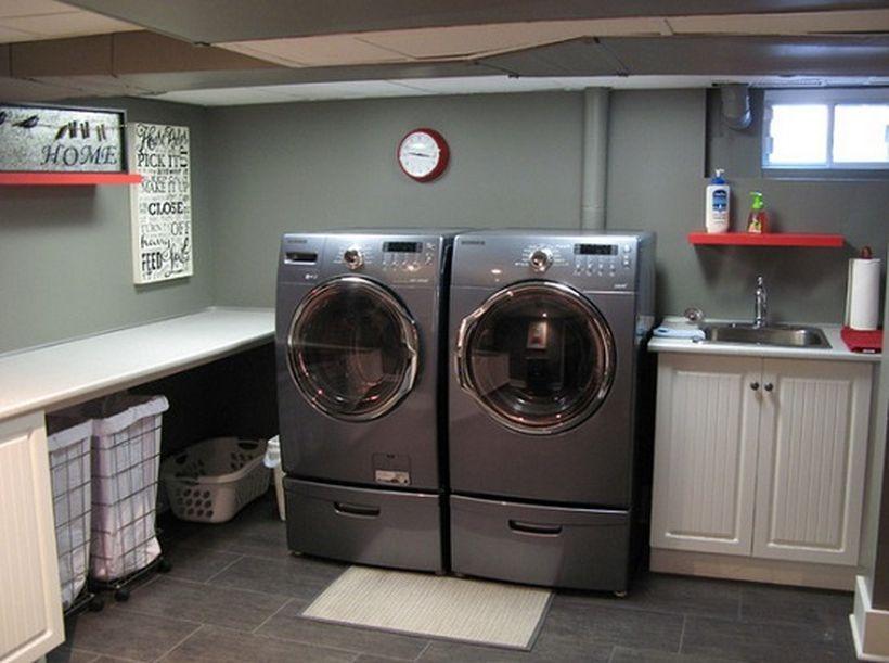 30 Wonderful Ideas Basement Remodel For Laundry Room Https