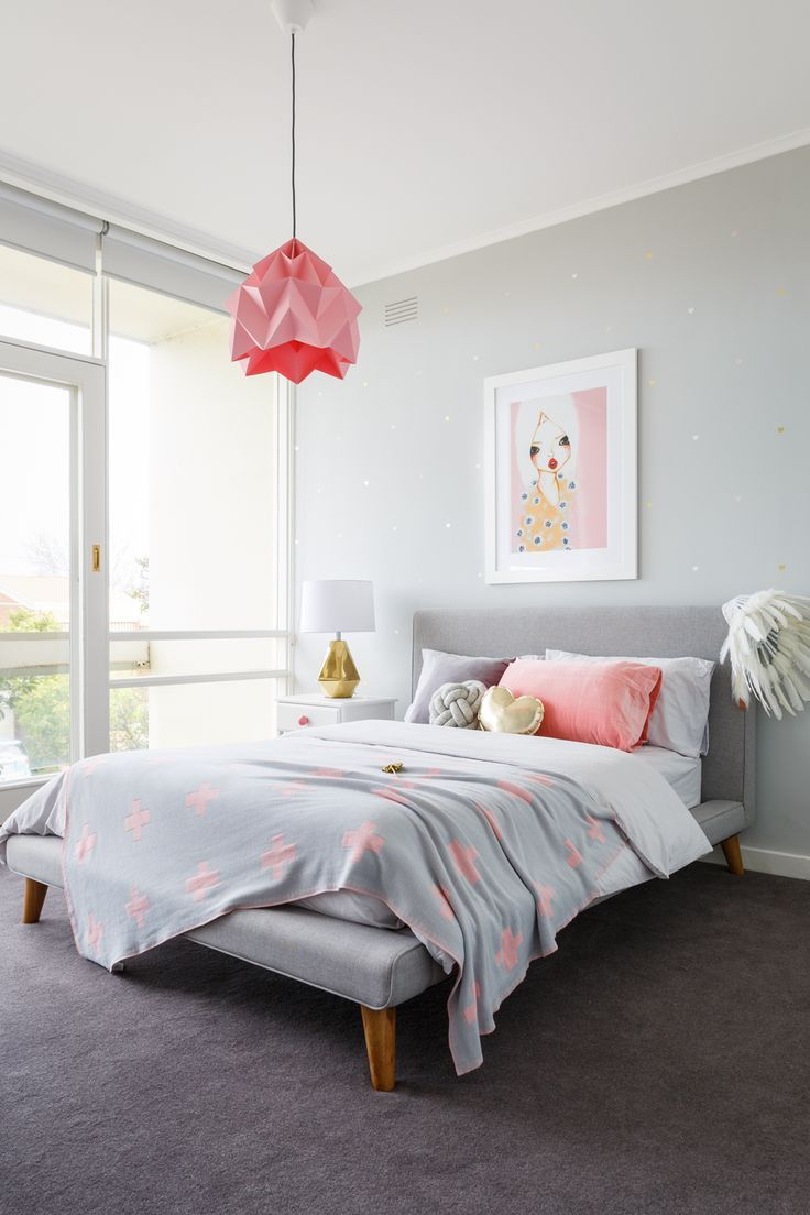real inspiration pink grey bedroom feminine bedroom girl room bedroom decor on grey and light pink bedroom decorating ideas id=80540