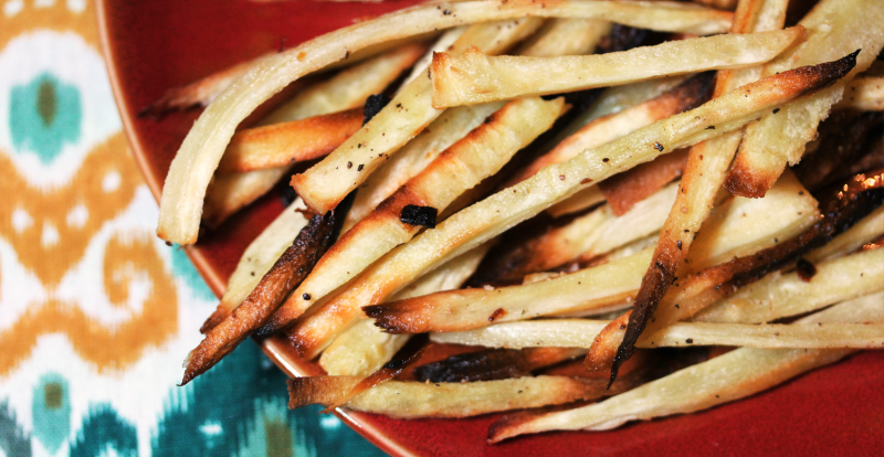 Paleo Parsnip Fries, A Side for Burgers