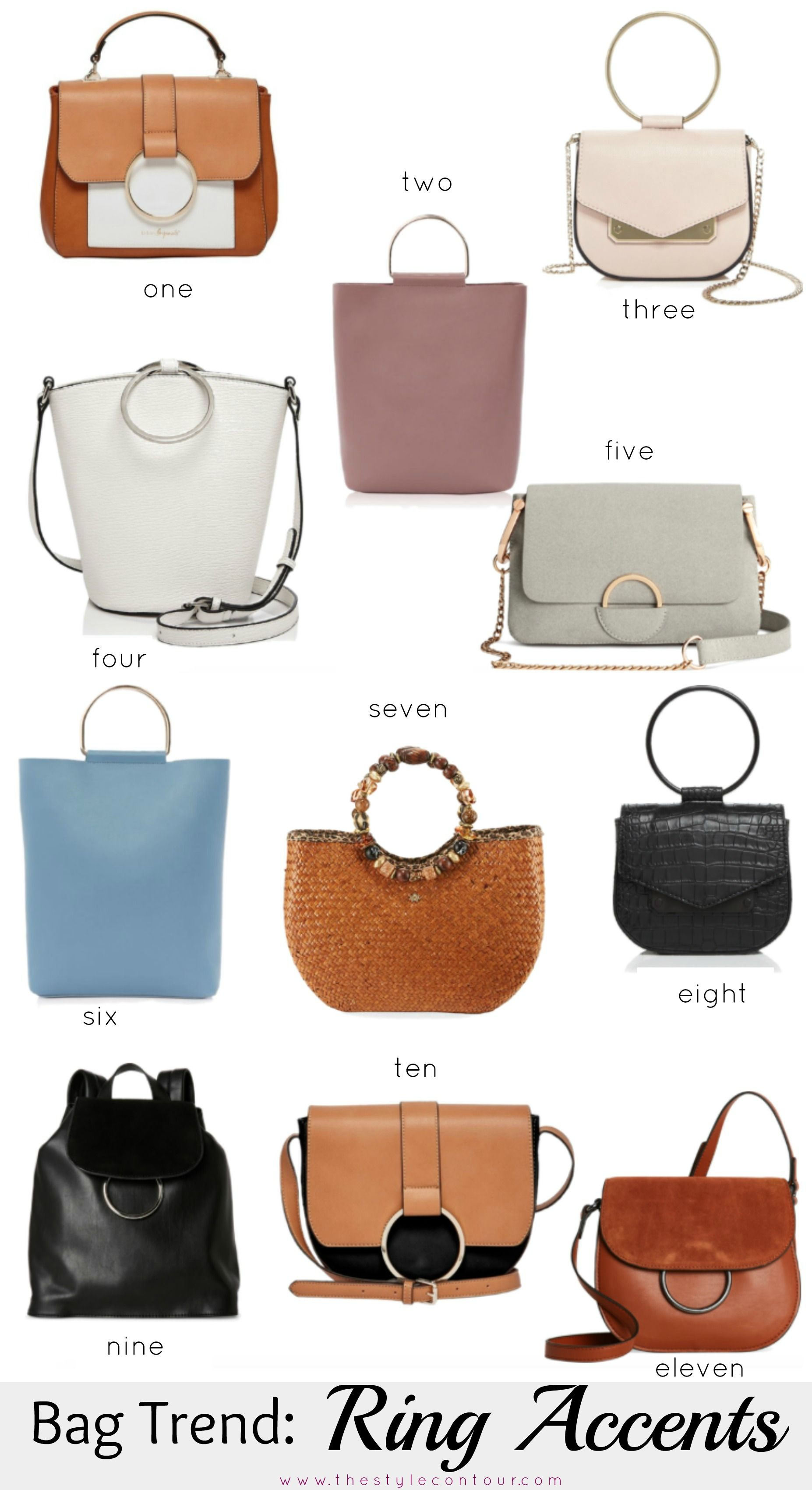 b12c38c0a Blog - Bag Trend: Ring Accents + 11 Picks Under $100 | Look What I ...